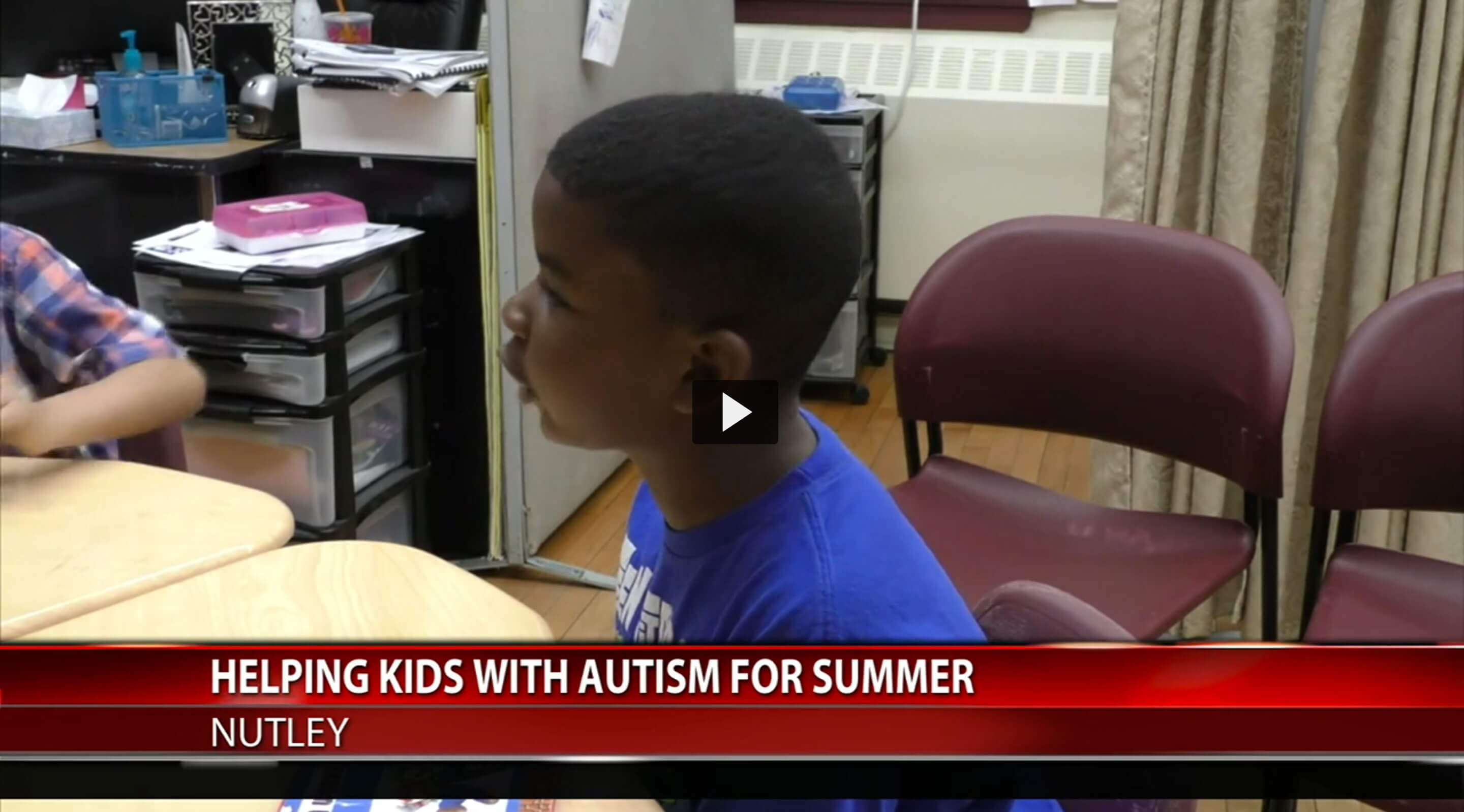 "Poster image from ""Helping Kids with Autism for Summer"""
