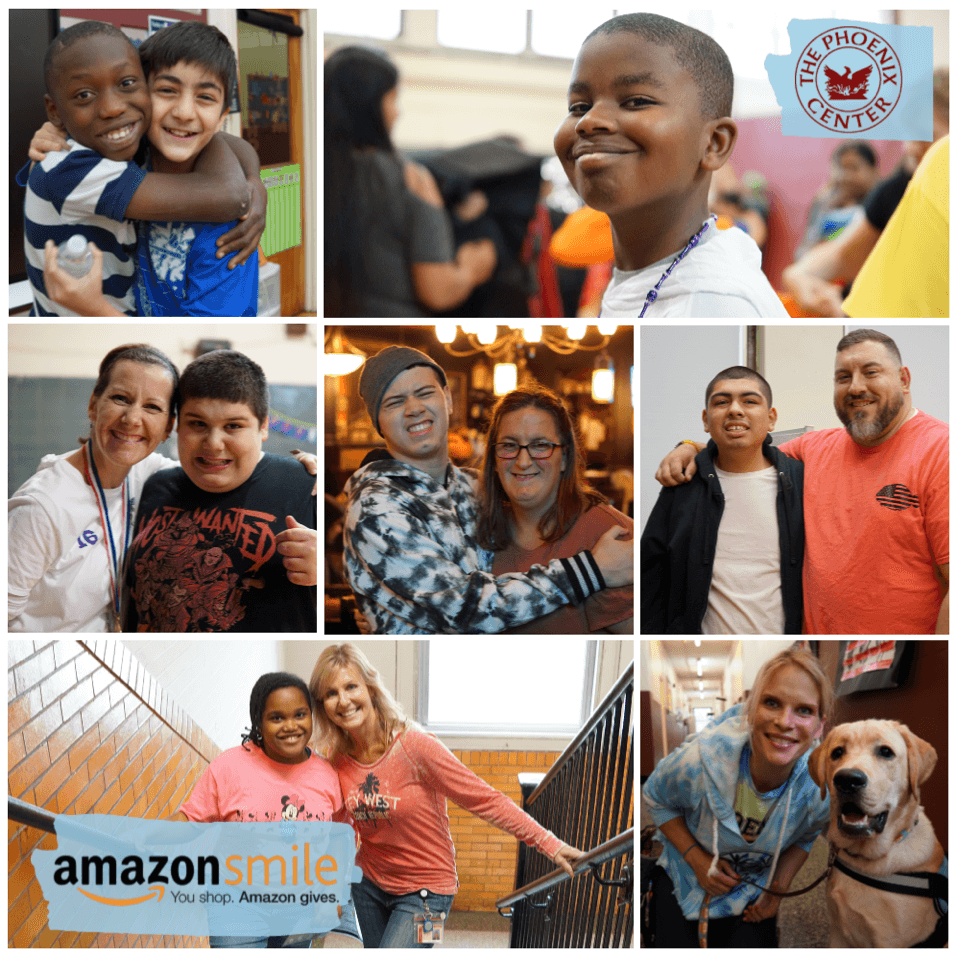 Shop Amazon Smile for the Phoenix Center!